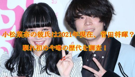 小松菜奈の彼氏は2021年現在、菅田将暉?馴れ初めや噂の歴代を調査!