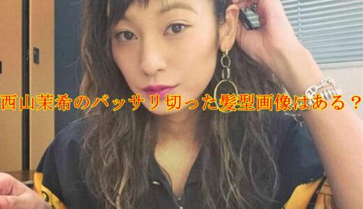 西山茉希のバッサリ切った髪型画像は?黒髪と茶髪を比較してみた!